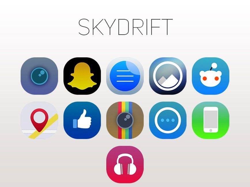 Skydrift - o noua tema pentru iOS 8 | iDevice.ro