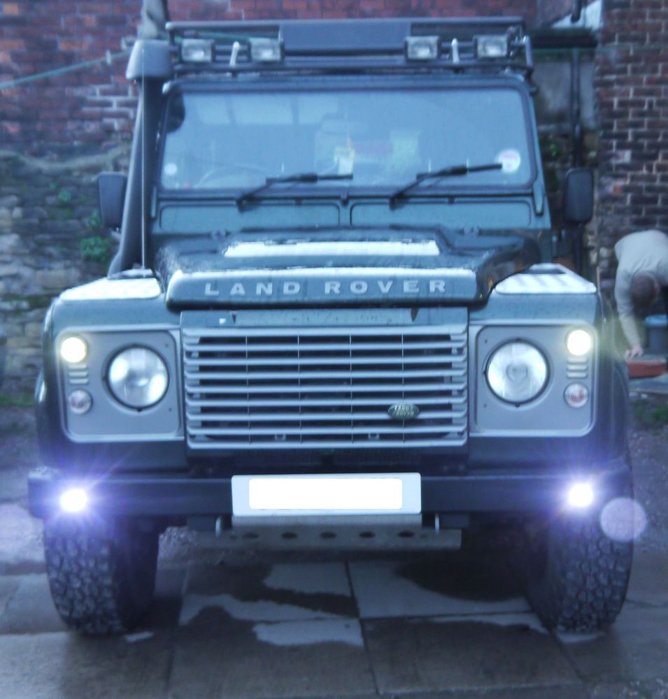Undefined Land Rover Defender Land Rover Running Lights