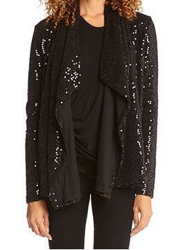 So Pretty! Comfy Black  Sparkle Knit  Cardigan #Comfy #Sparkle #Knit #Holiday #Cardigan