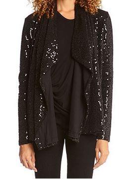 So Pretty! Comfy Black  Sparkle Knit  Cardigan #Comfy #Sparkle #Knit #Holiday #Cardigan