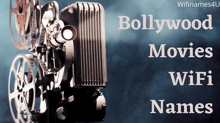 50 Bollywood Movies Wifi Names For Router Wifi Names Bollywood Movies Fast Internet Connection