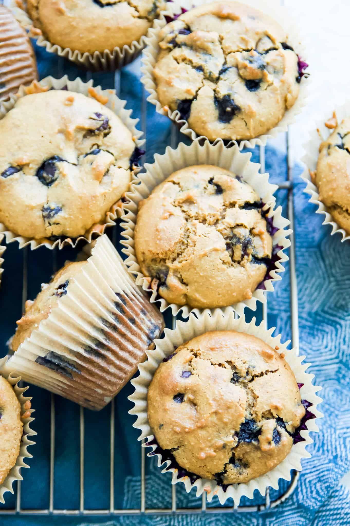 Gluten Free Blueberry Muffins Paleo Dairy Free Grain Free