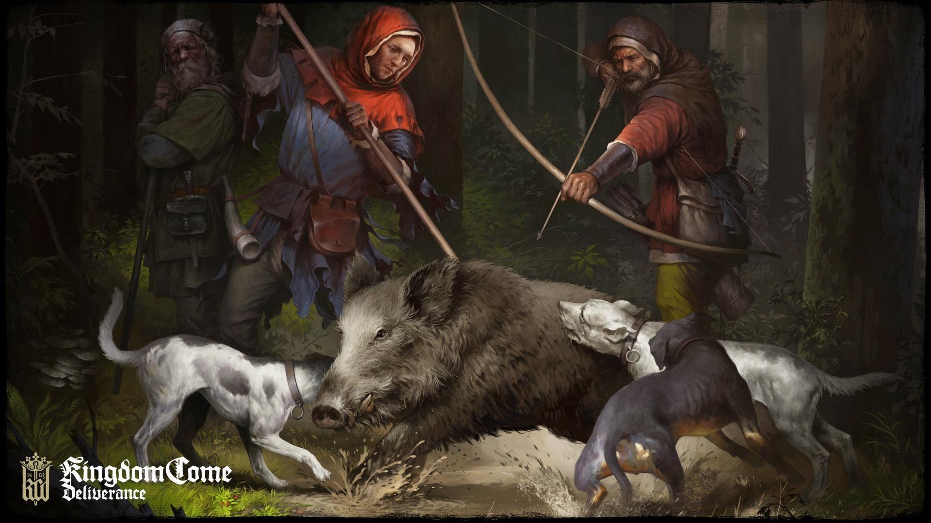 kingdom come deliverance hunting