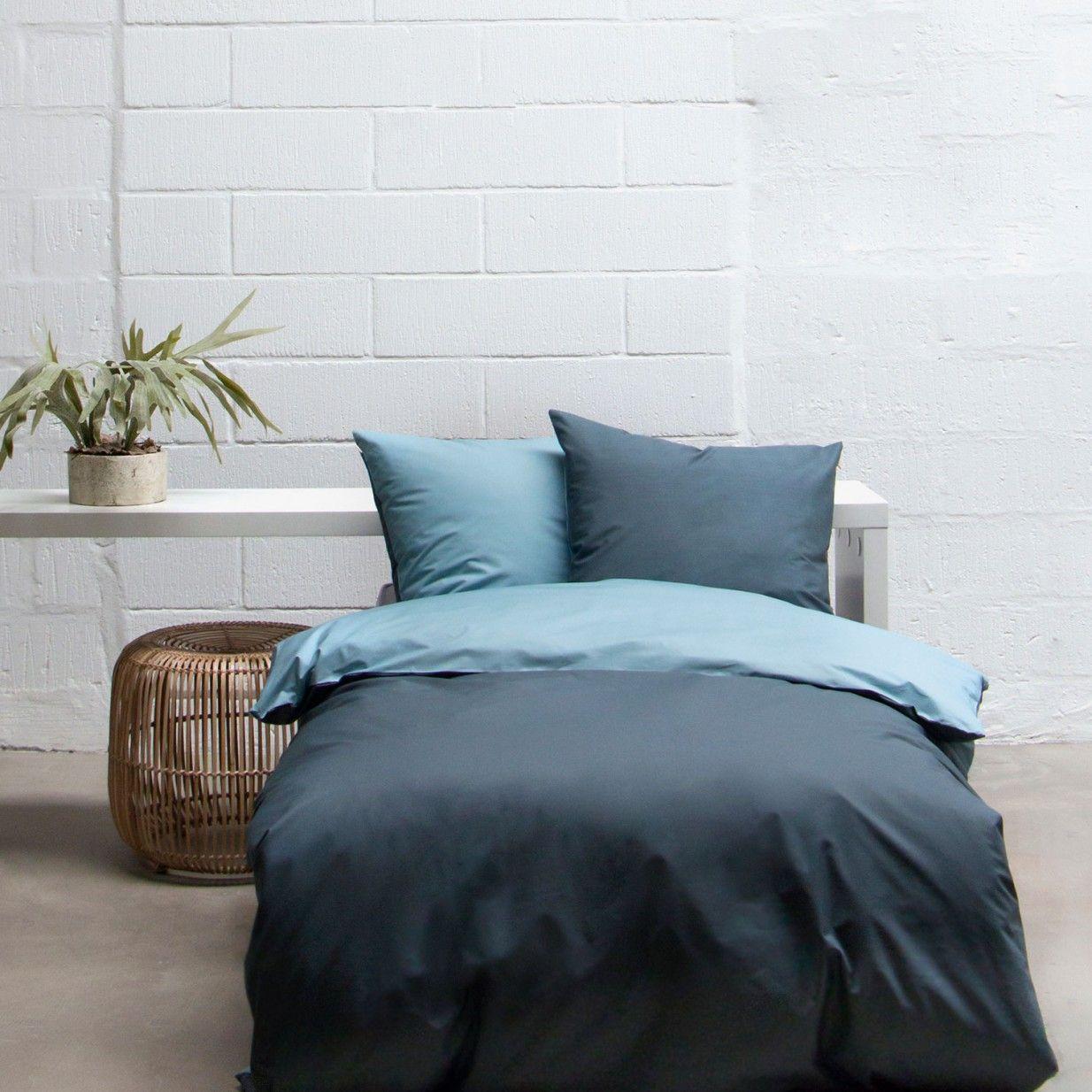 135x200 Bettwasche Blau Mette Ditmer Bed