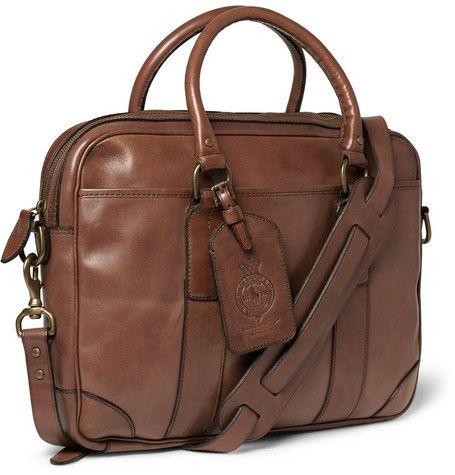 Polo Ralph Lauren Leather Briefcase Mr Porter Leather Briefcase Men Leather Briefcase Leather Laptop Bag