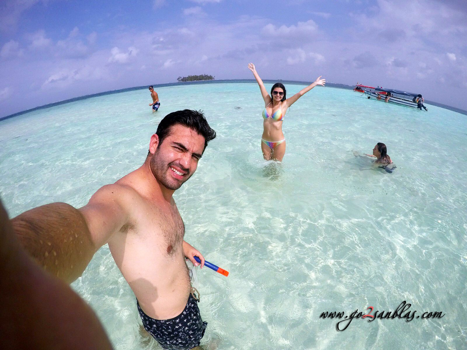 Natural pool piscina natural by maricelys sanblas for Piscina de san blas