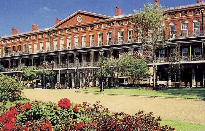 Upper Pontalba Building New Orleans Merchants Ping