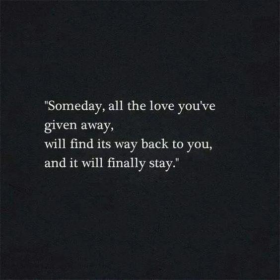 Someday.