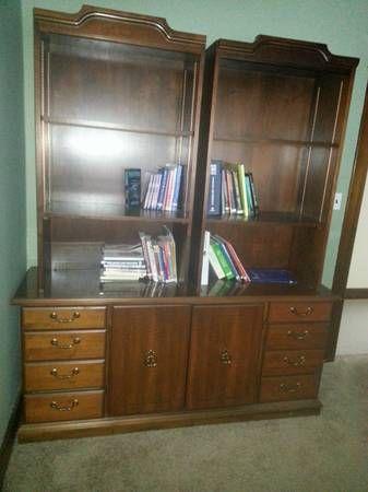 Credenza/Bookcase - $99 (Kettering)
