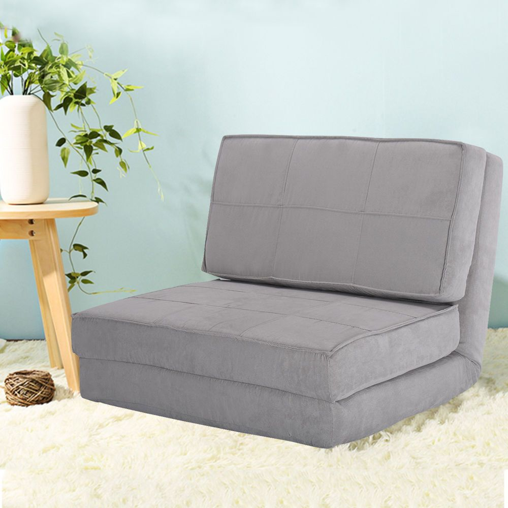 Fold Down Chair Flip Out Lounger Convertible Sleeper Bed Couch Game Dorm Guest Unbranded Couch Bed Game Room Chairs Sleeper Bed
