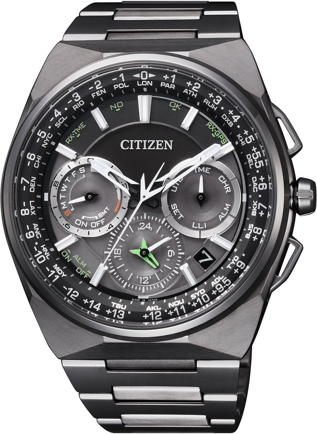 ce2151e0472 Buy Authentic Citizen Eco-Drive Satellite Wave World Time F900 Sapphire  Japan Watch CC9004-51E. FREE Worldwide Shipping! 20