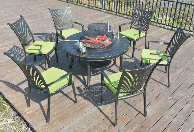 Camping Make It Successful Grill Table Charcoal Bbq Grill Outdoor Furniture Sets