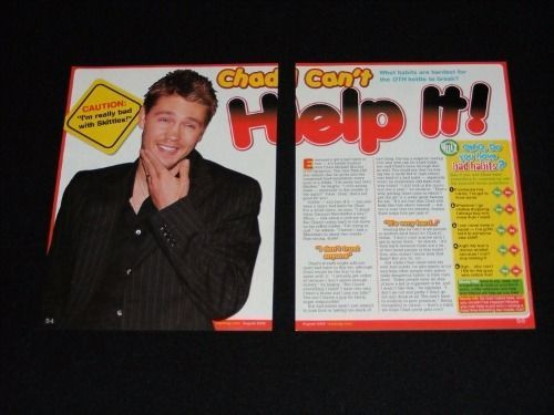 CHAD-MICHAEL-MURRAY-magazine-clippings-lot-No3-with-POSTER