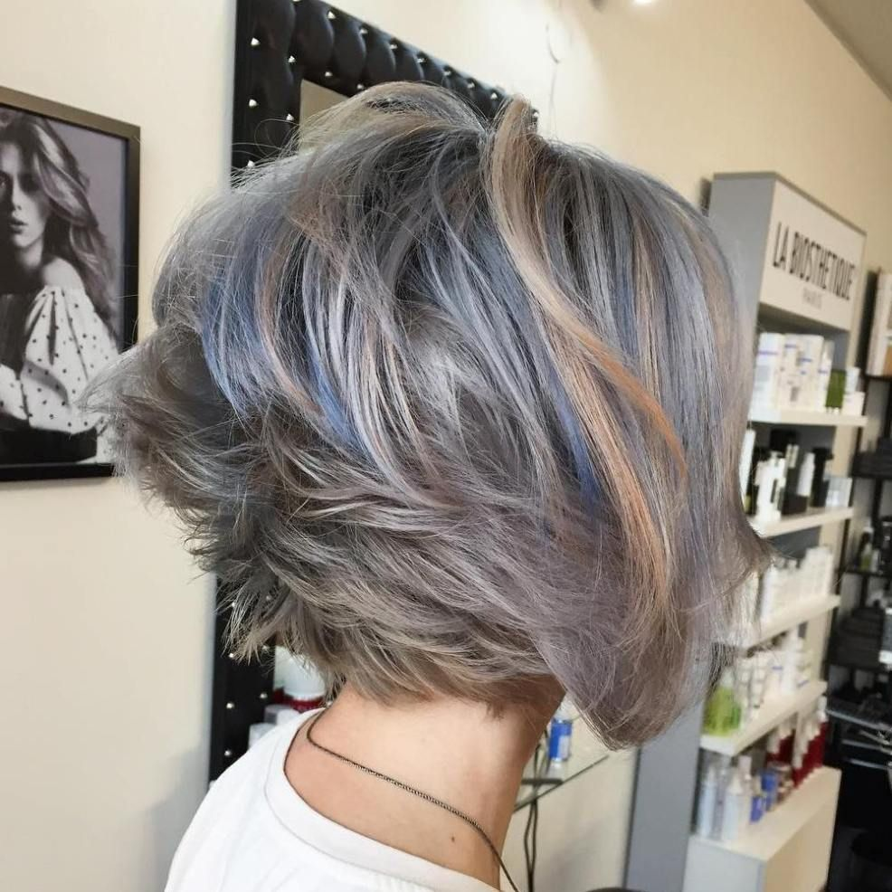 cute and easytostyle short layered hairstyles bobs ash and brown