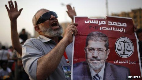 UNDER1ROOF - The Muslim Brotherhood's Mohammed Mursi has been declared the winner of Egypt's presidential election run-off.
