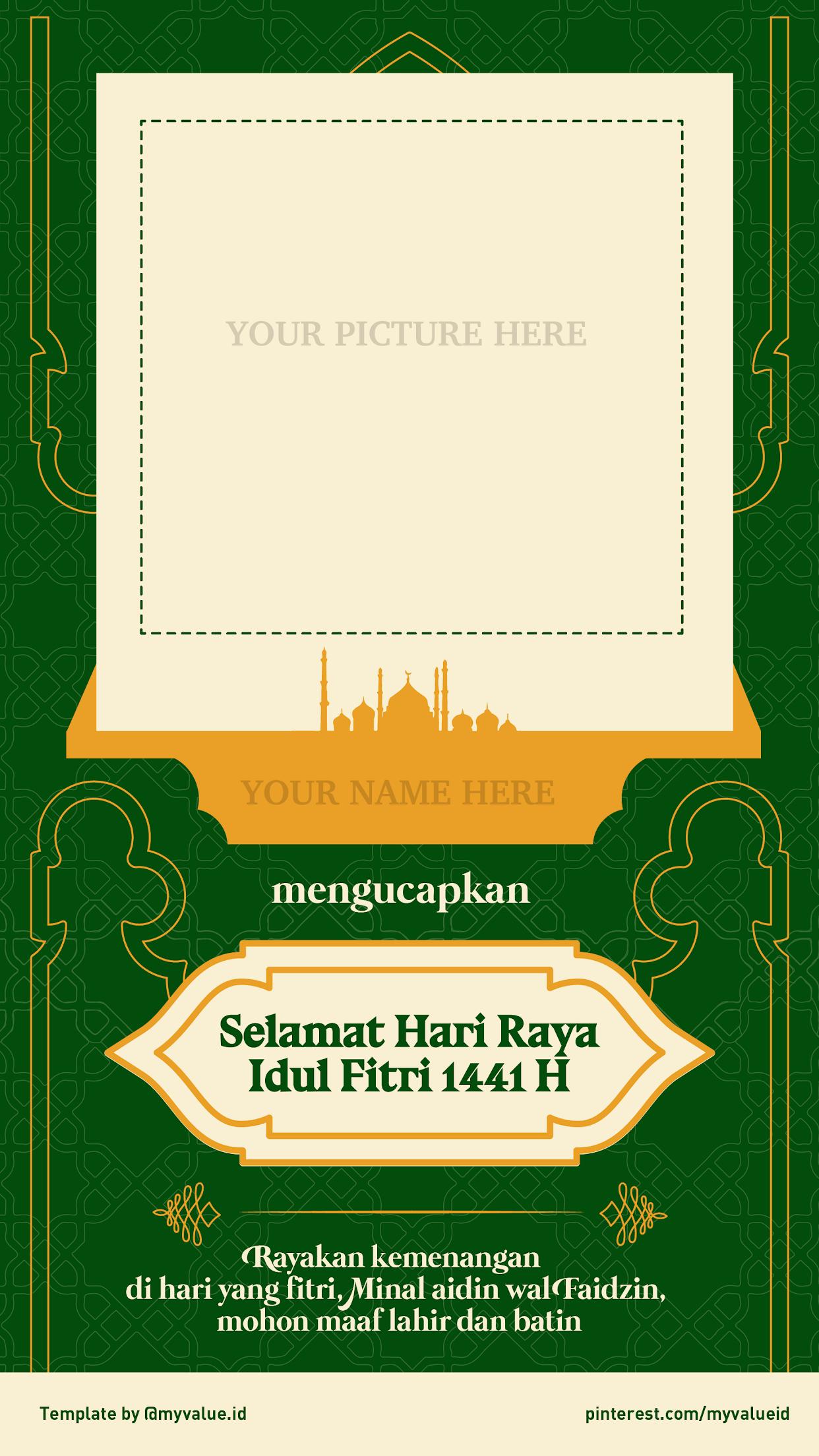 Ucapan Idul Fitri Png : ucapan, fitri, TEMPLATE], Ucapan, Selamat, Fitri, Templates,, Instagram, Photo,, Photo, Video