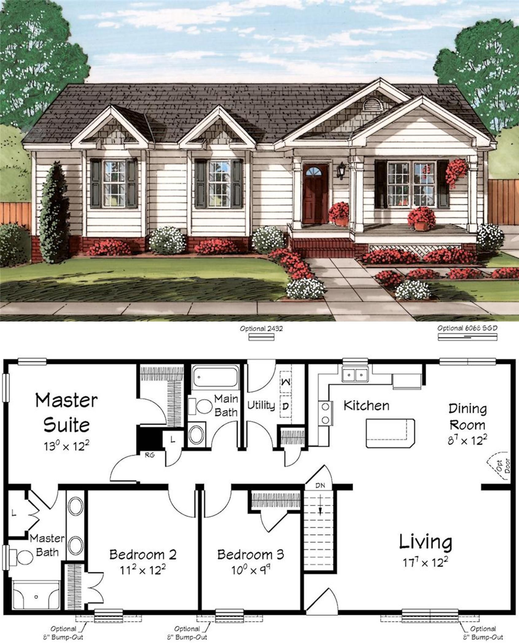 Pin By Randy Perkins On Floor Plans Sims House Plans Dream House Plans New House Plans