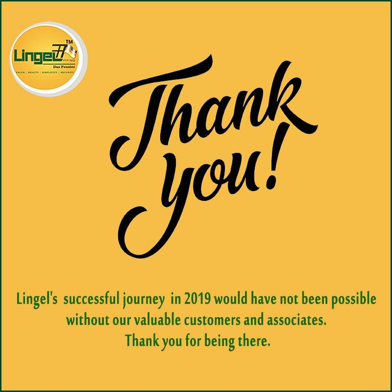 Say A Warm Goodbye To The Year 2019. Lingel's Successful