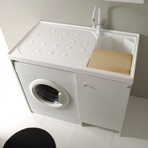 Mobile Bagno Con Lavatrice Ikea Mobile Lavanderia Con Lavatoio E