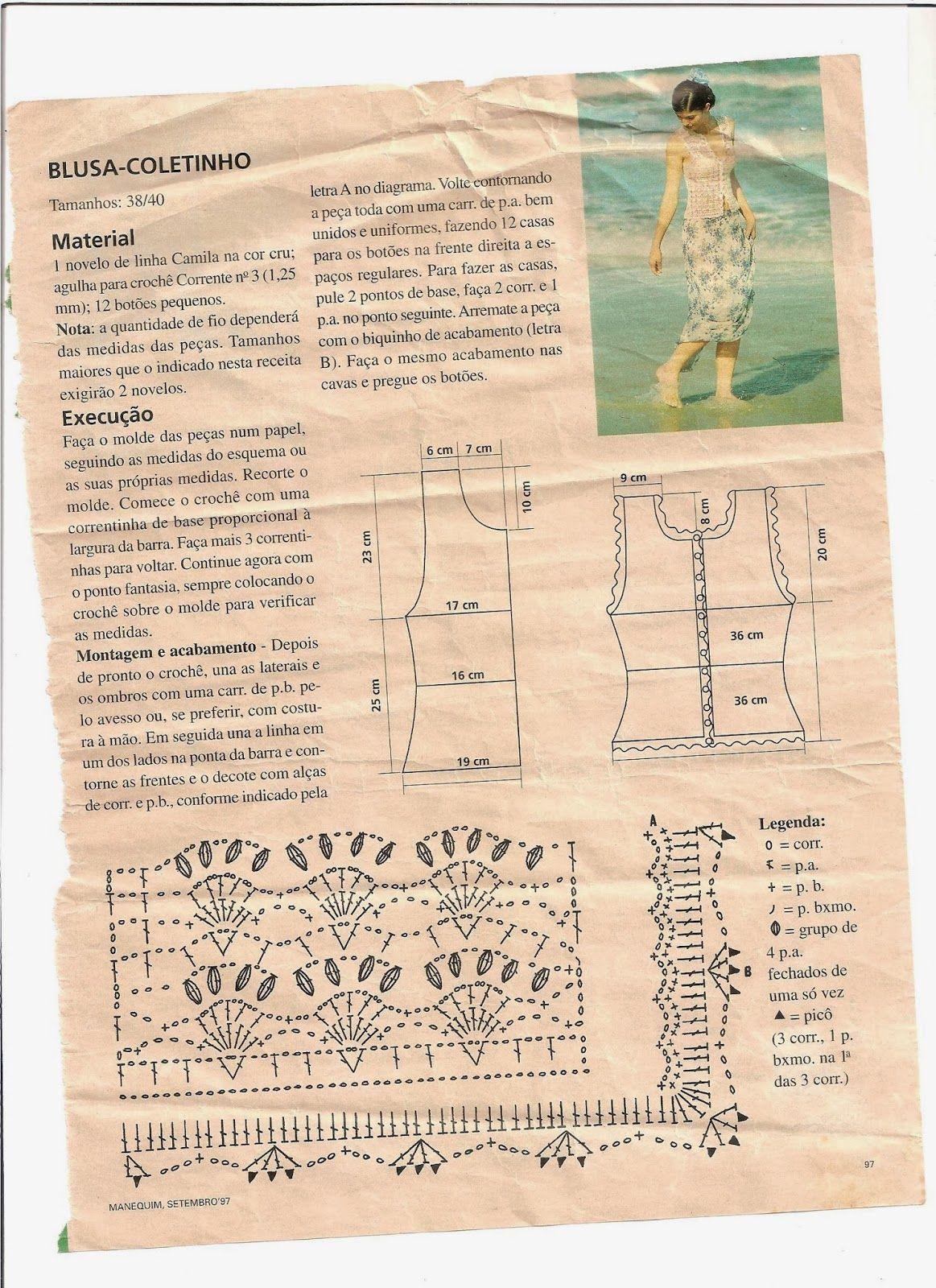 crochelinhasagulhas: Chaleco