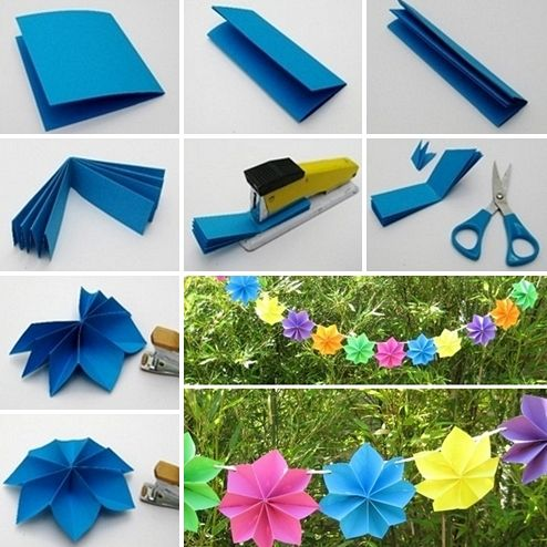 This Paper Flower Garland Will Make An Adorable Party Decor