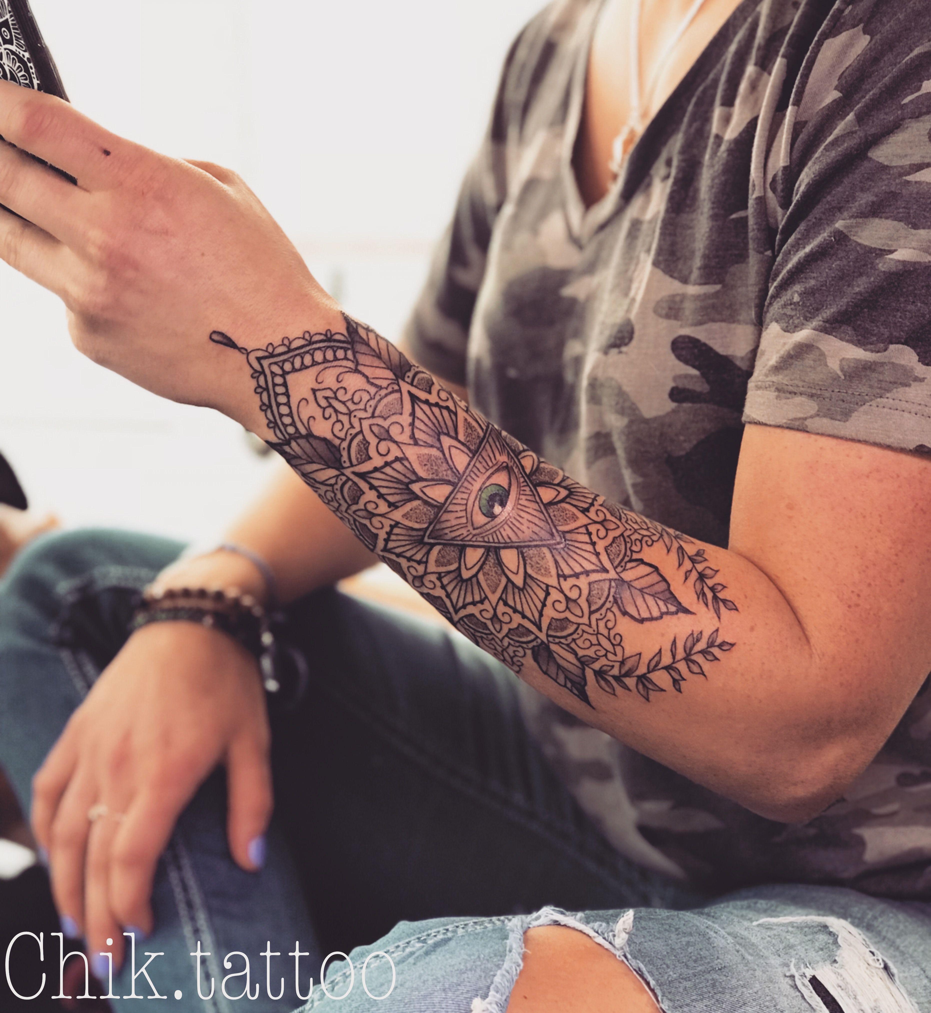 Lotus Mandala Flower Tattoo Rose Lace Arm Tattoos Mandala Flower