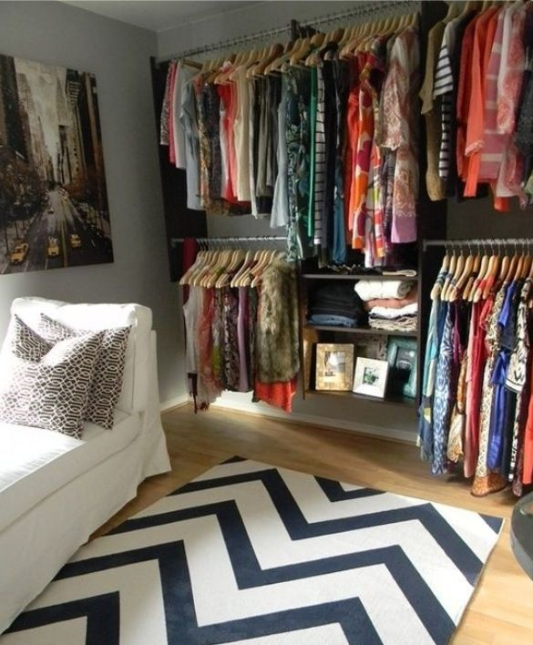 Turn A Bedroom Into A Closet: How To Organize And Design Closets Of All Sizes