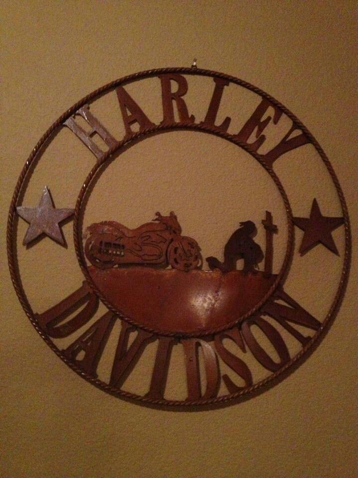 Metal Art Harley Davidson Wall Hanging Part 42