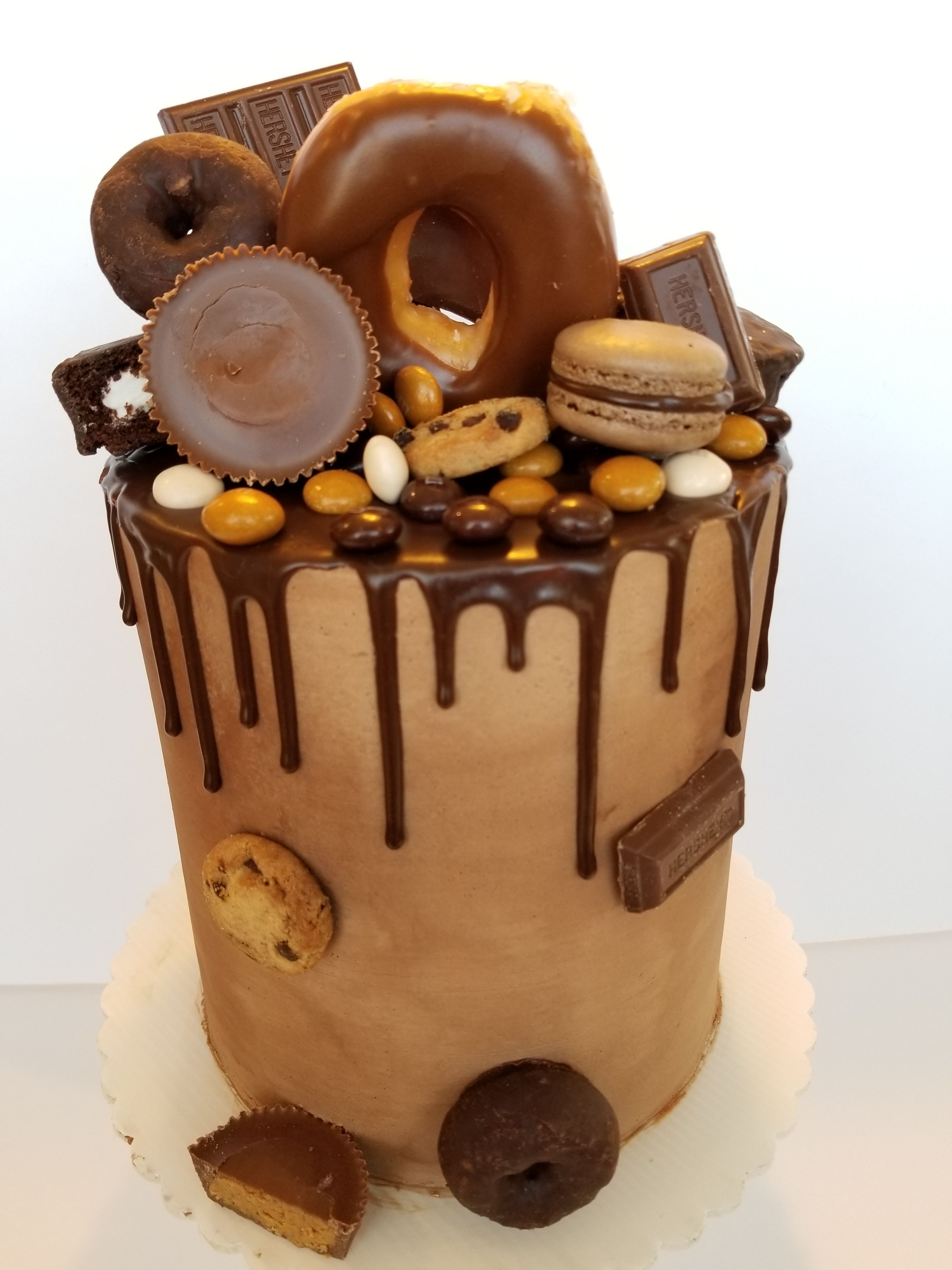 Bourbon cake with chocolate buttercream cake bourbon