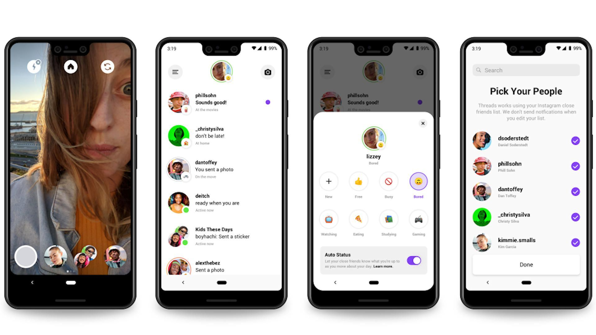 In Today S Top Stories Talking With Your Close Friends On Instagram Should Get Easier With The New Threads App Messaging App App Instagram Editing