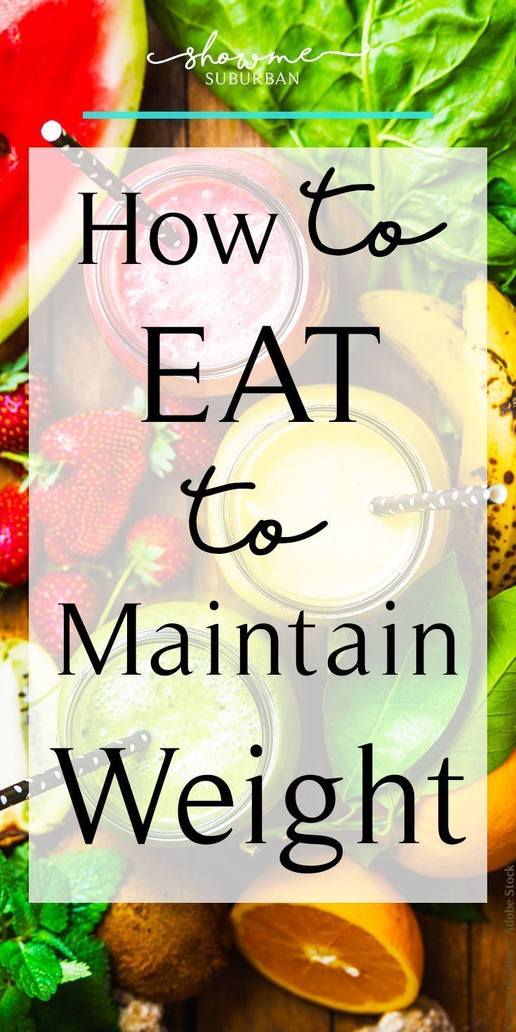 How to Make Better Food Choices to Maintain Your W