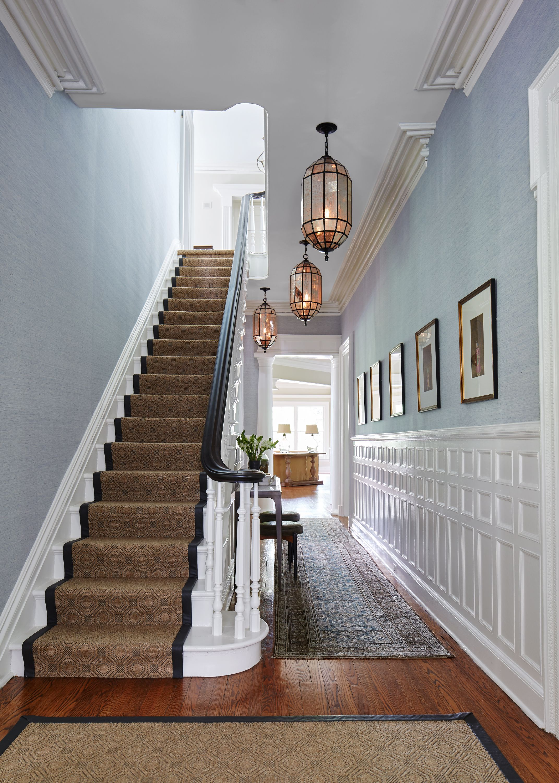 Elegant Foyer Victorian Home Foyer Lighting Pendants