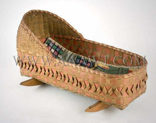 Antique Doll Cradle, Woodland Indian made, angle view #indianbeddoll Antique Doll Cradle, Woodland Indian made, angle view #indianbeddoll Antique Doll Cradle, Woodland Indian made, angle view #indianbeddoll Antique Doll Cradle, Woodland Indian made, angle view #indianbeddoll