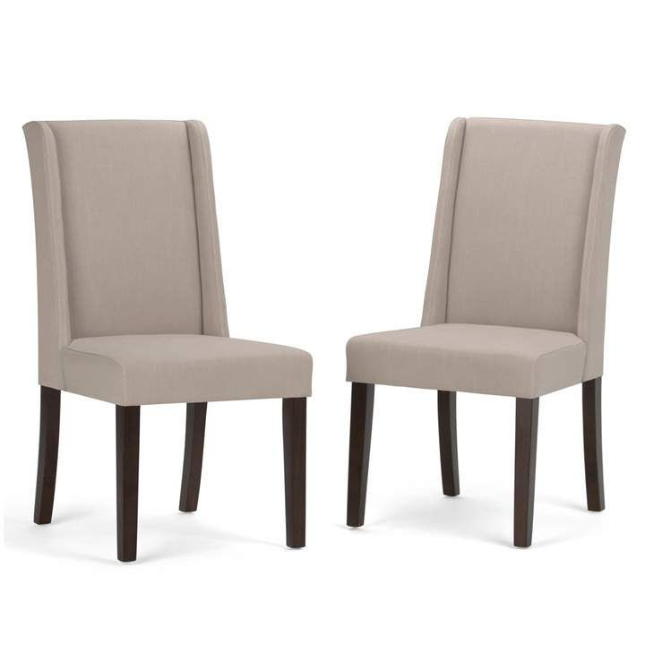 Simpli Home Sotherby Dining Chair 2 Piece Set