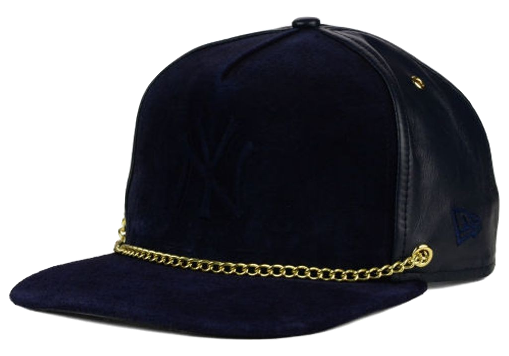 60582b042efa ... newera 59fifty cap new sale this new york yankees mlb lux chain 9fifty  strapback cap features a new york yankees ...