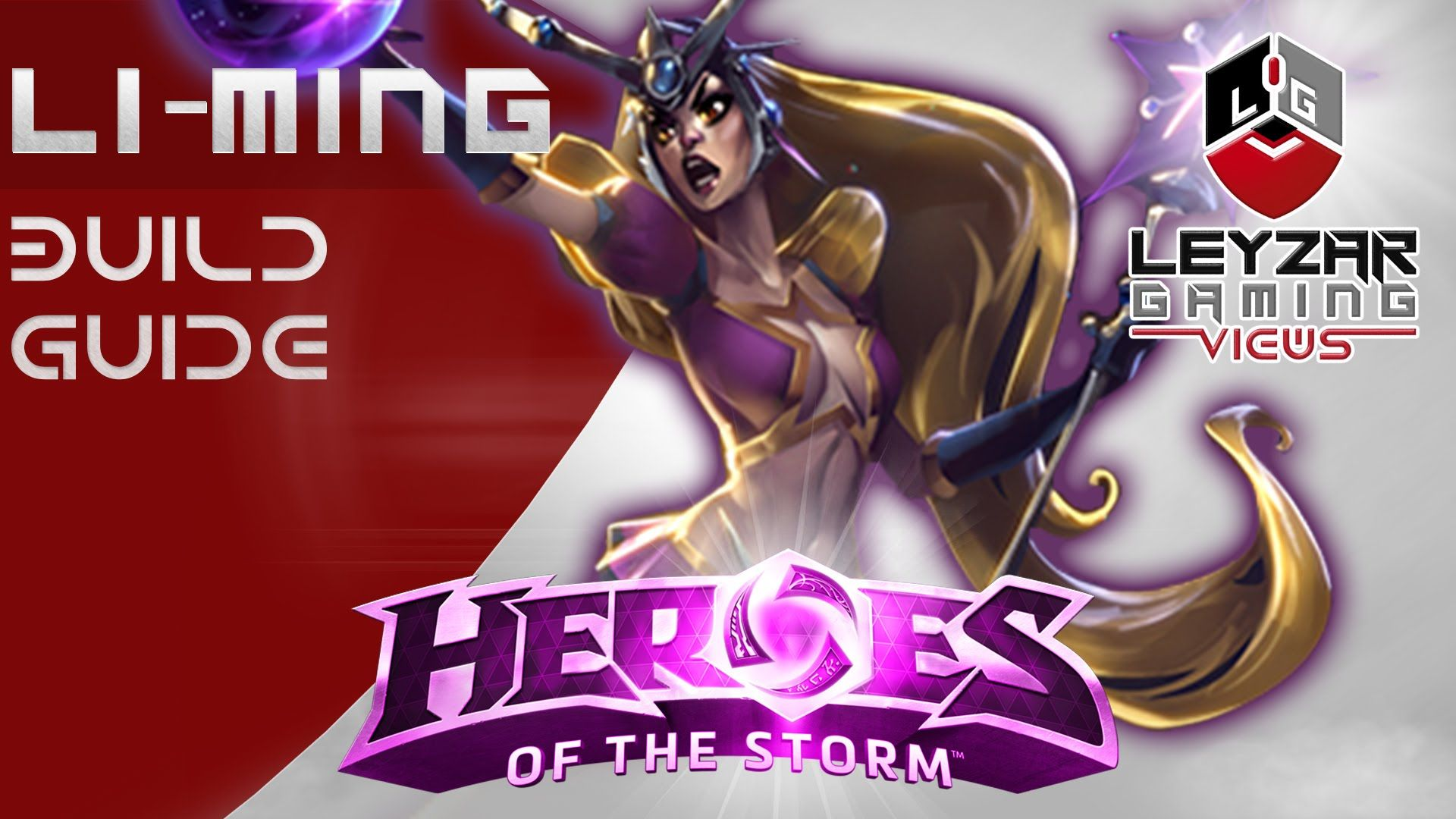 Heroes of the Storm (Gameplay) - Li-Ming Build Guide - After the Nerf (H...