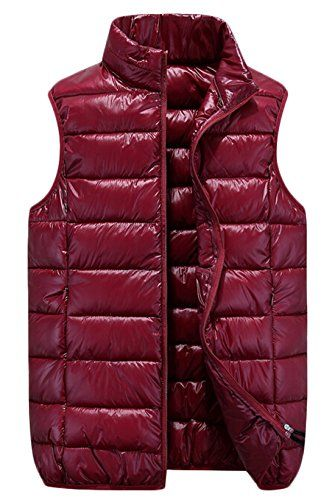Alion Mens Down Vests Packable Lightweight Coats Puffer Vests