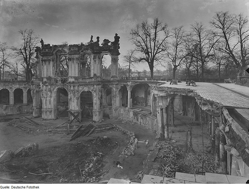 Zwinger Dresden Zwinger Dresden Dresden Ruinen