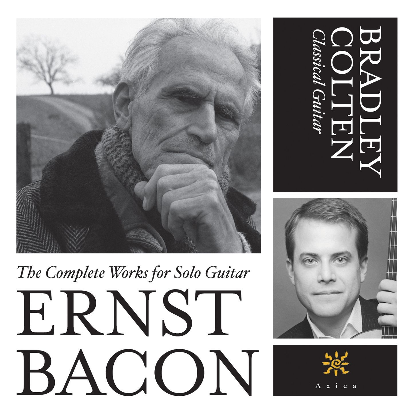 Bradley Colten - Bacon: The Complete Works for Classical Guitar