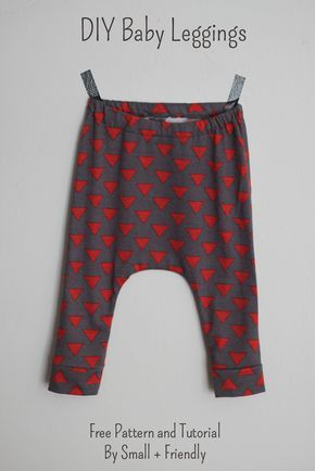 Free Sewing Patterns! Baby Leggings and Shorts   Sewing patterns ...