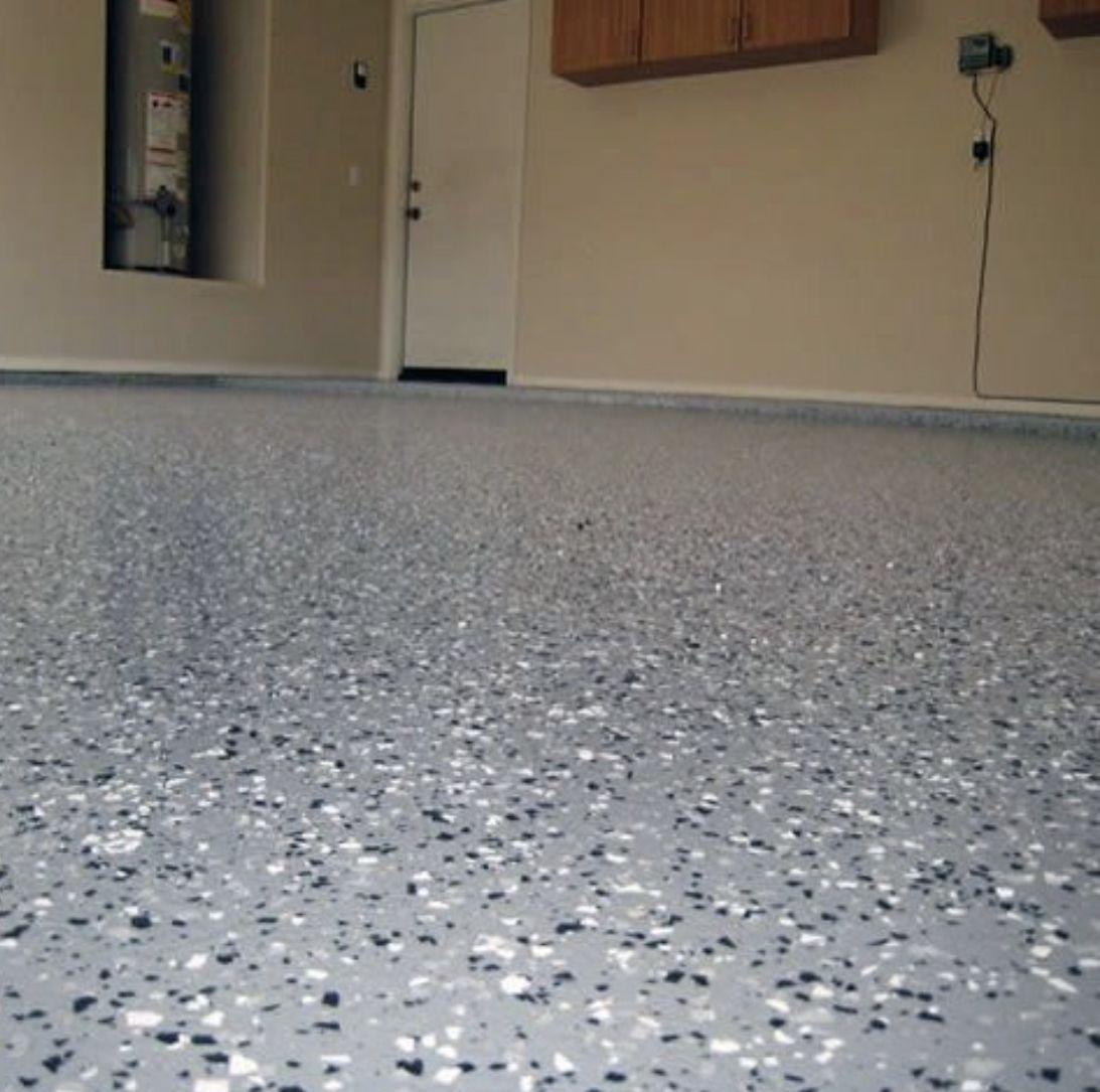 I Sealed My Garage Floor In My Former Home The Cement Floor