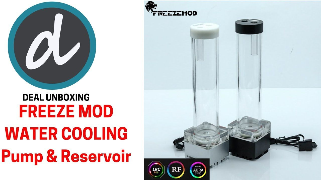 Freeze Mod Water Cooling Pump Reservoir Combo Kit Computer Water Cooling Unboxing Router Reviews Combo Kit Camera Reviews