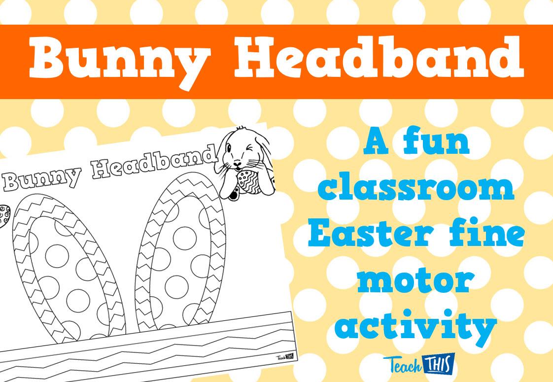 Easter Bunny Headband