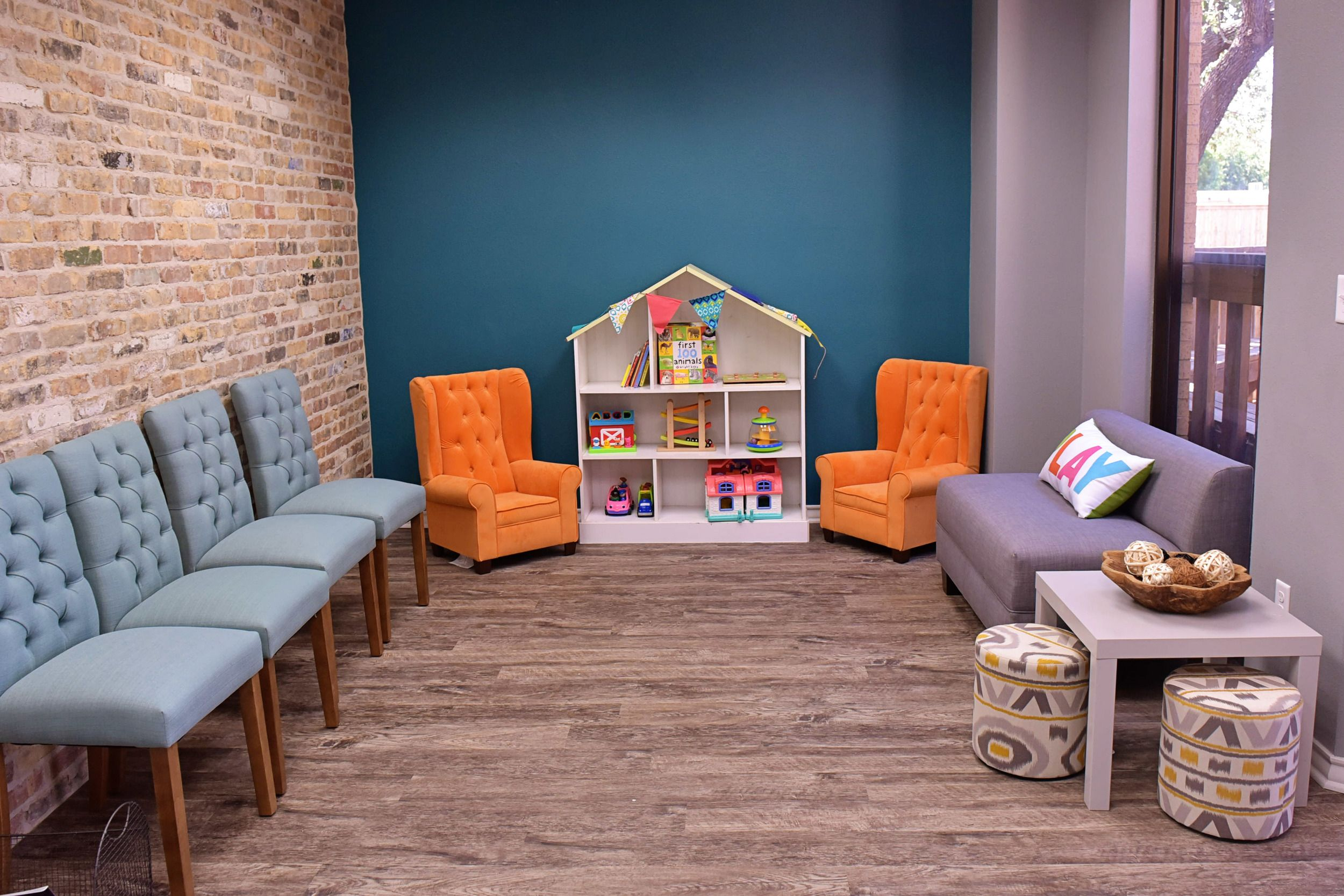 Counseling Practice Office Design Play Therapy Room Design Therapy Playroom Design Counseling Office Waiting Room