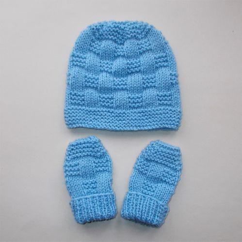 Ravelry: JORDAN Baby Hat & Mittens pattern by marianna mel ...