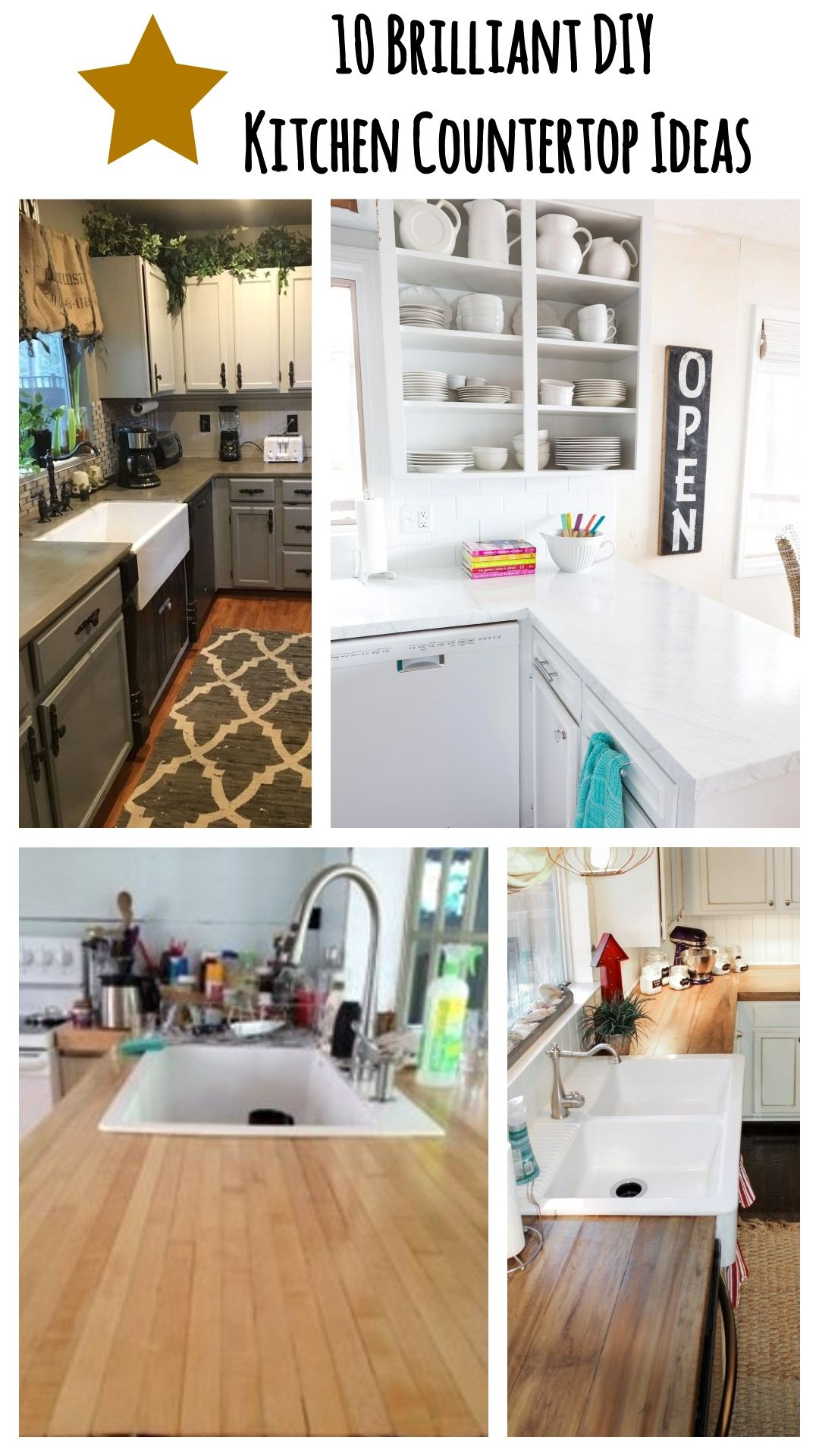 Pin On Diy Kitchen