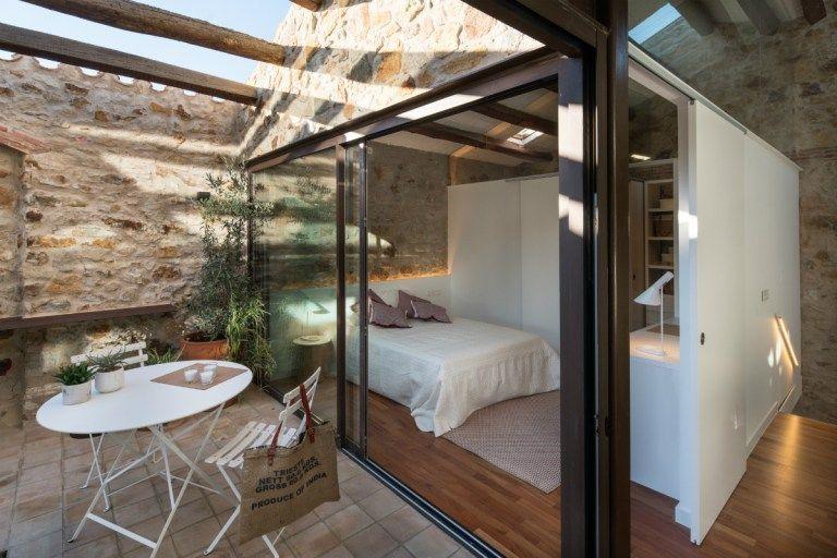 vacaciones en el pueblo reformas casas rurarles muros de piedra