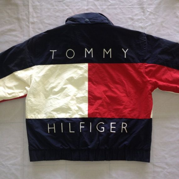 vintage tommy hilfiger th jacket sweater varum rkenas. Black Bedroom Furniture Sets. Home Design Ideas