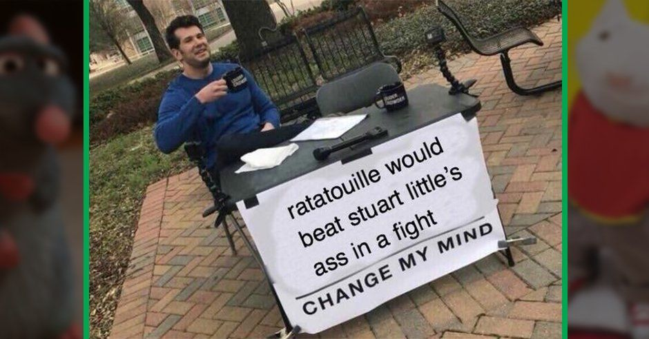 the change my mind meme is challenging the internet s most sacred beliefs collegehumor lol