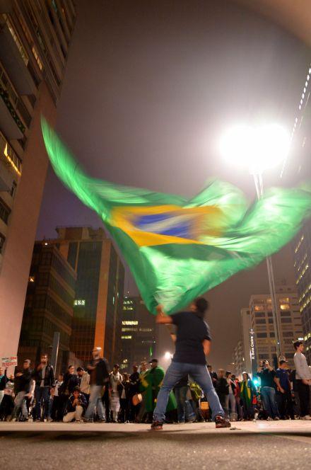 Entre engajados, baderneiros e coxinhas (Avenida Paulista)